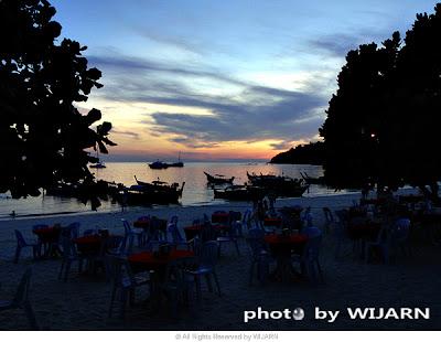 sunset : เกาะหลีเป๊ะ