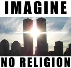 Imagine No Religion - Twin Towers