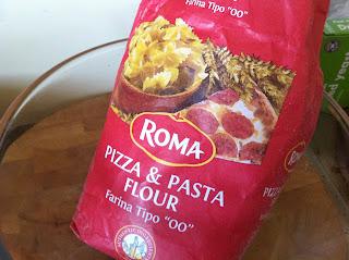 ruth's kitchen experiments: Roma Pizza/Pasta Flour