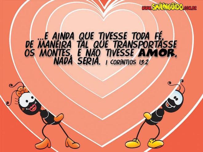 O amor é maior que tudo