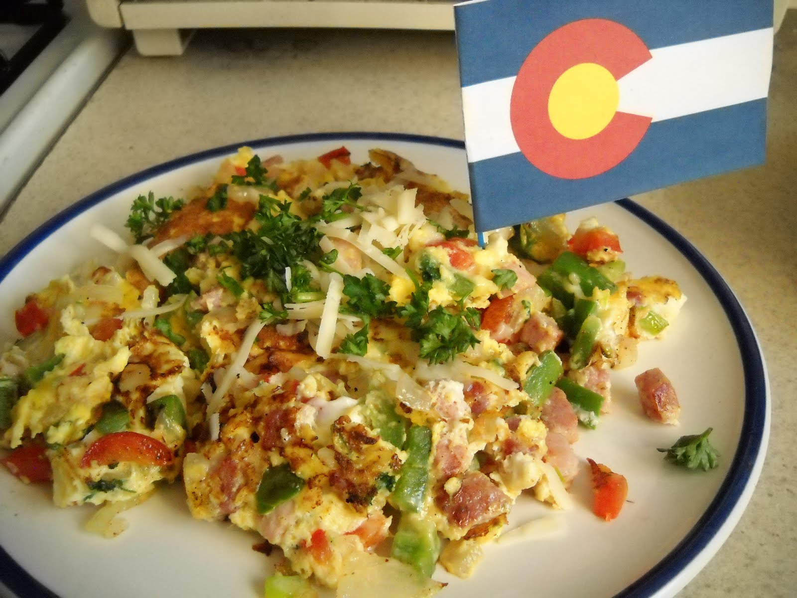 ... Snacker: Snacking State-by-State: Colorado I - A Big Ol' Omelette
