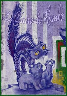 El gato morado