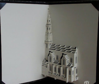create building from flat paper
