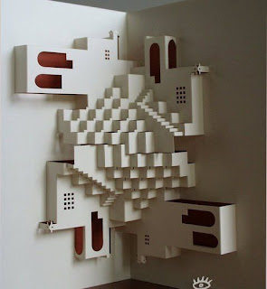 how to create this amazing papercut art?