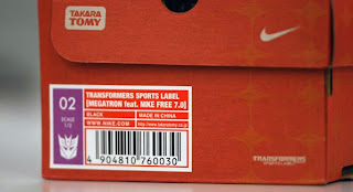decepticon nike shoes in box
