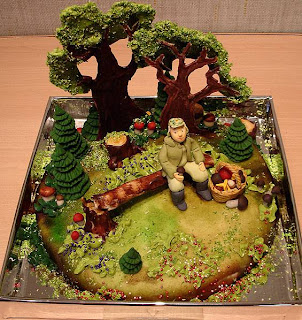 mini village cake
