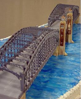 bridge cake