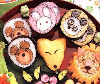 cute sushi for kid