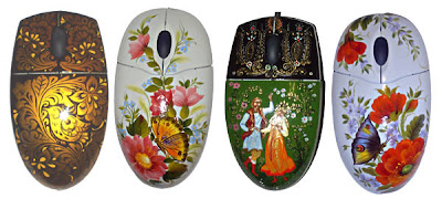 mouse art. make art in technology