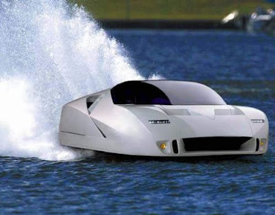 amphibian future jet car