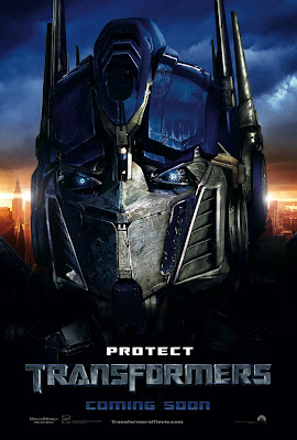 optimus prime head poster