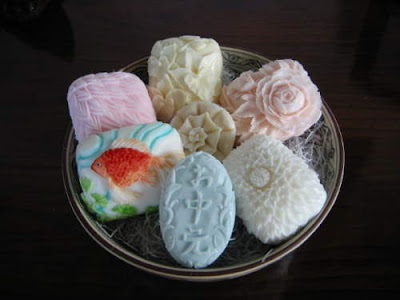 soap carving fan create creative object