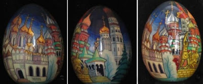 creative egg painting