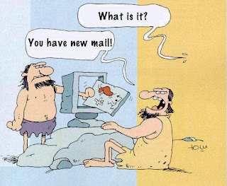 mail delivery in stone age