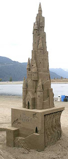 sand castle molds and tools needed for this amazing work