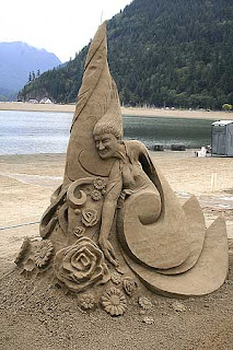 unbelievable art of sand castle building