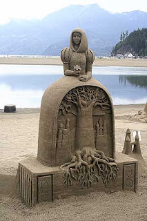 how many days to take to finish this sand sculpture