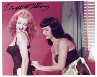 """Doce Feito Pimenta: Divas do Show Burlesco """"Tempest Storm"""""""