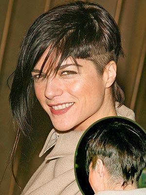 Selma Blair Hair