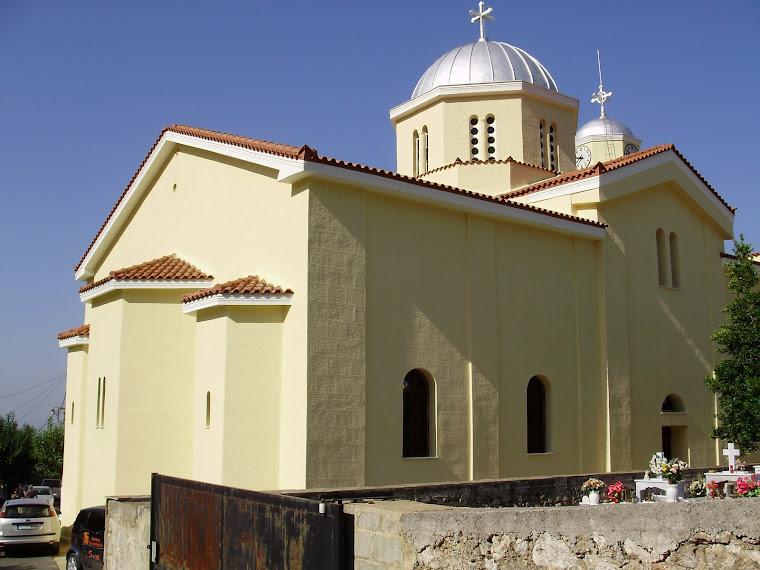 Εκκλησία του χωριού.-