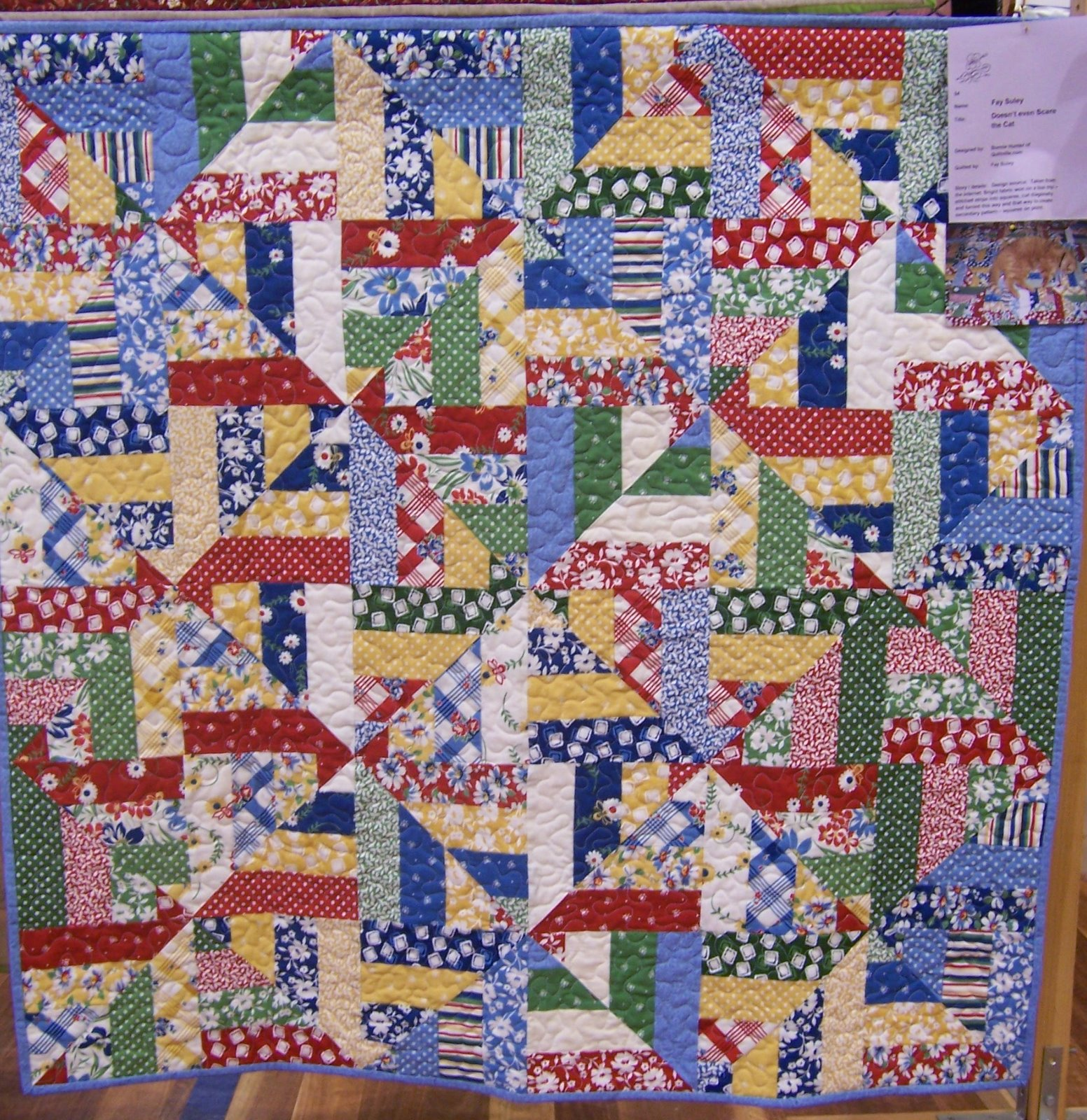 Toowoomba Quilters Club Inc Exhibition 2010 Quilts On Display 3