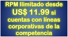 RPM ILIMITADO DESDE US$ 11.99