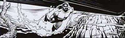 Fumetti: Poseidon by Antonio Conversano