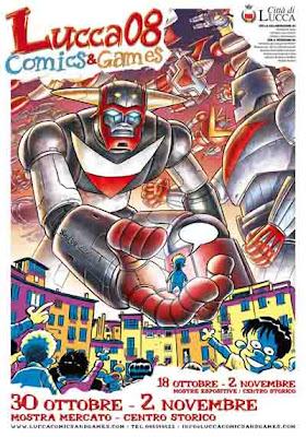 Fumetti: Lucca Comics & Games 2008