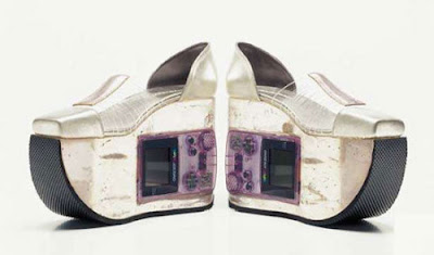 The Gameboy Shoe