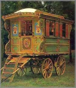 Light Color Sound Gypsy Caravan