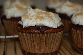 Vegan S'mores Cupcakes