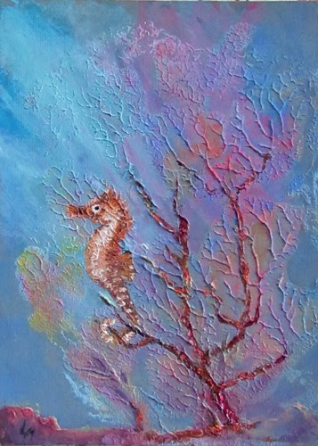 Underwater Oil Paintings Lori's Stormy Art and ...
