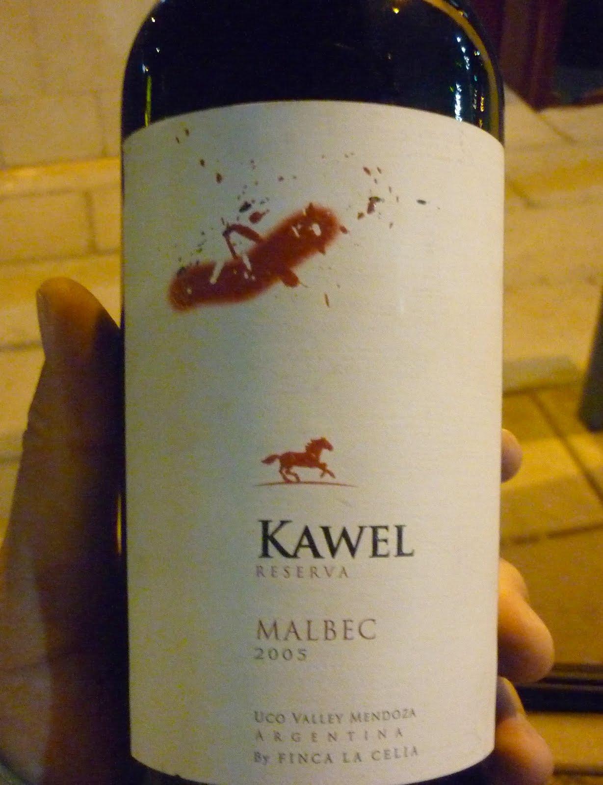 kawel%2Breserva%2B05 Kawel Reserva Malbec 2005 From Uco´s a deception