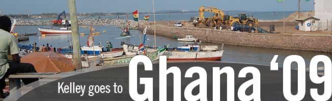 Kelley in Ghana '09