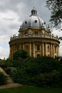 The Radcliffe Camera, part of the Bodleian Library in Oxford.