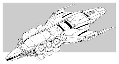 Les sketcheurs cosmiques le vaisseau spatial du jour - Dessin vaisseau spatial ...