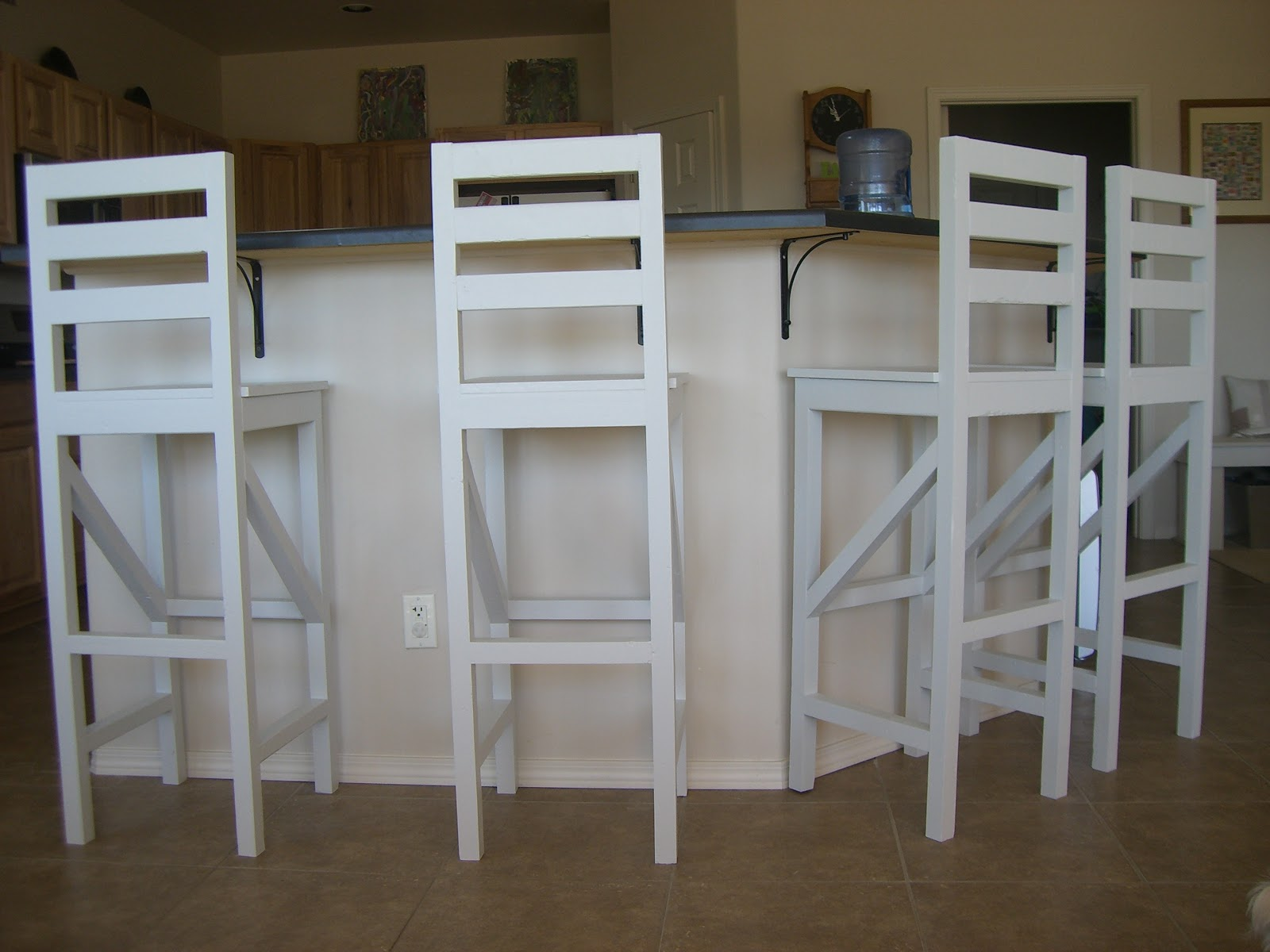 Home Kids Life Diy Extra Tall Bar Stool Plans