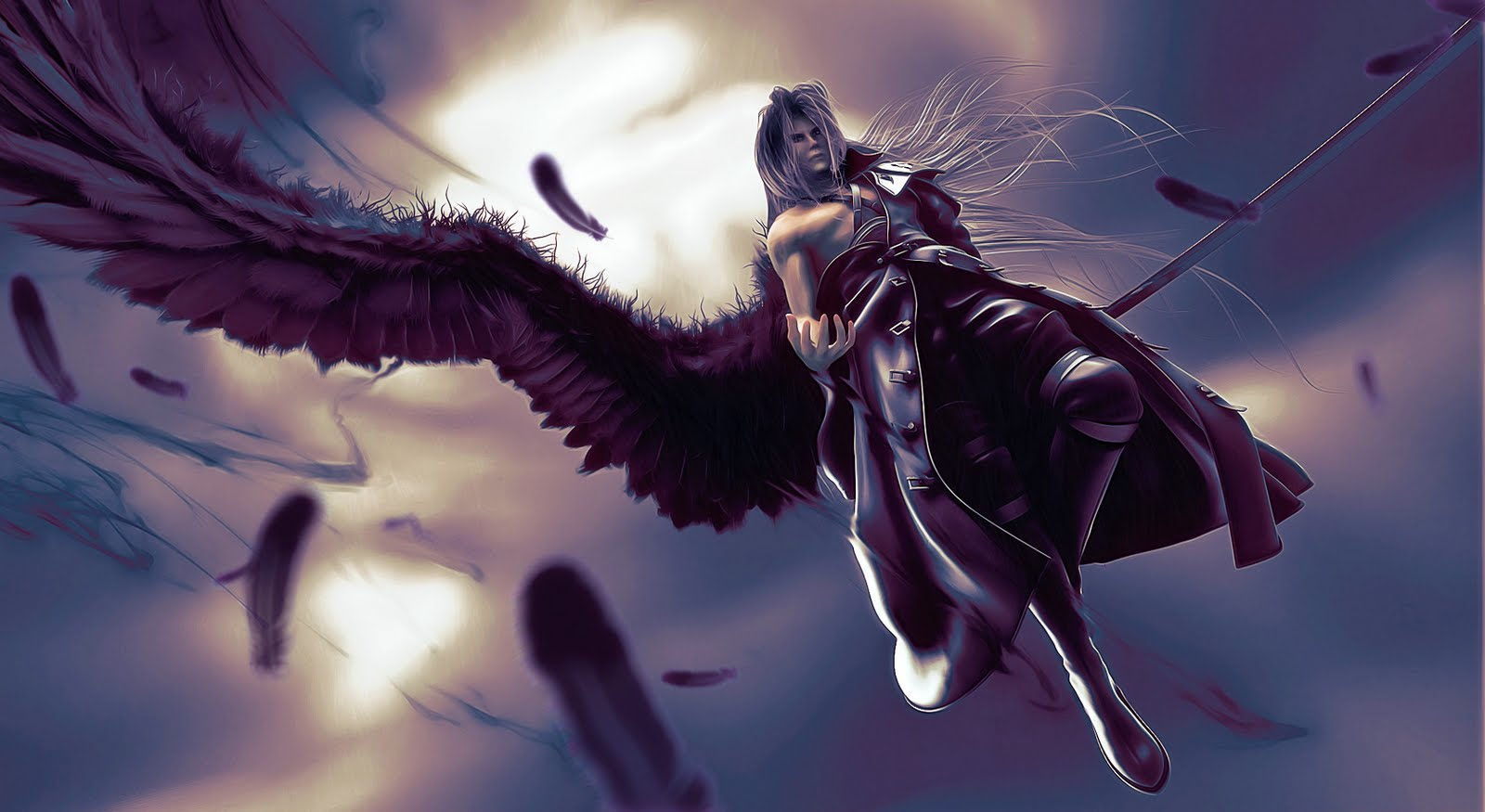 Sephiroth and Tifa Blog: August 2010 One Winged Angel Sephiroth