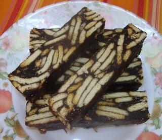 We love food ♥ アメリカで居屋ブーム!♥: Marie Fudge Cake / Kek Batik