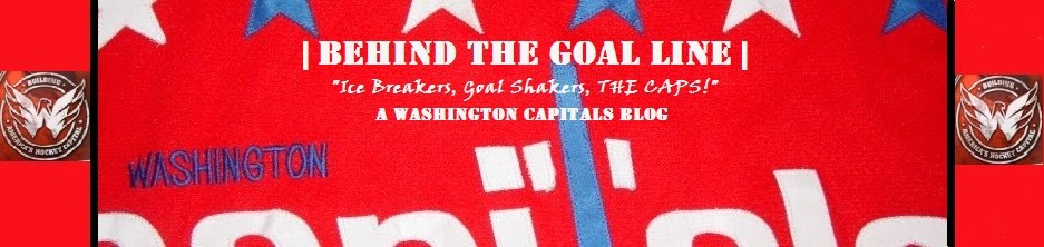 Behind The Goal Line - A Washington Capitals Blog