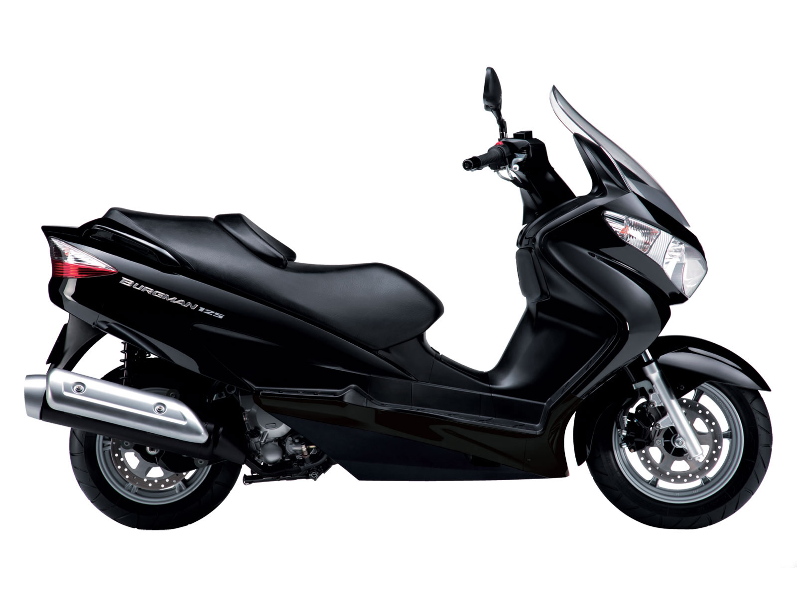 suzuki burgman 125 2010 scooter wallpapers