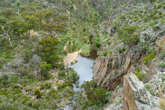 werribee gorge from western bluff