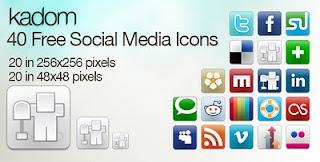 40 Free Social-Media Icons - Social Media Icons