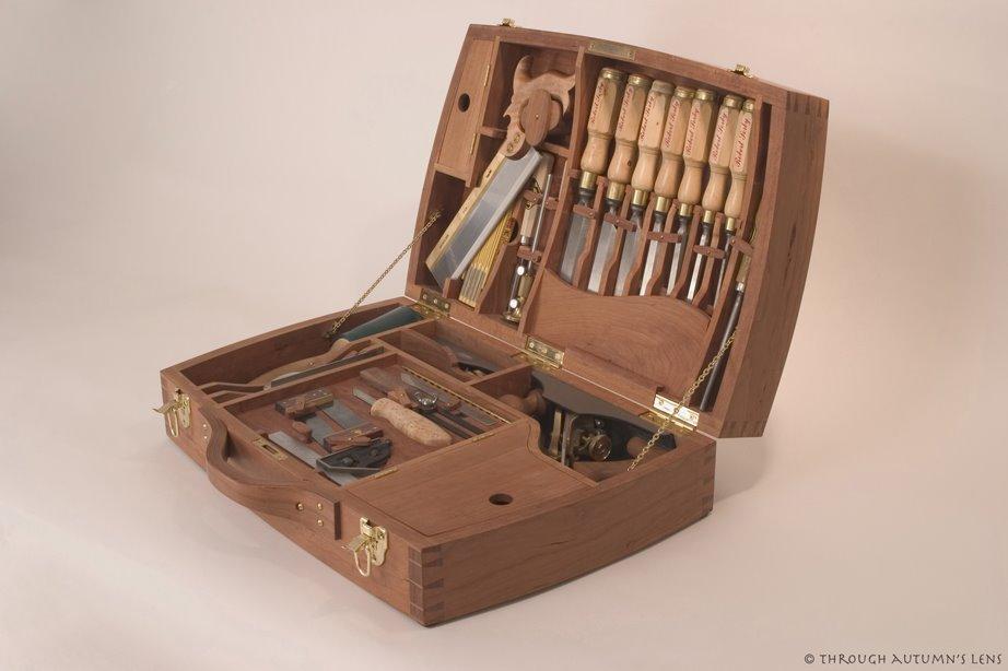 Carpinteria y tallado de madera caja de herramientas - Herramientas de madera ...