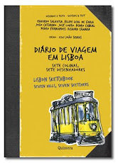 Dirio de viagem em Lisboa. Sete colinas, sete desenhadores.
