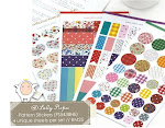 (Ready Stock) Best Selling : Pattern Stickers