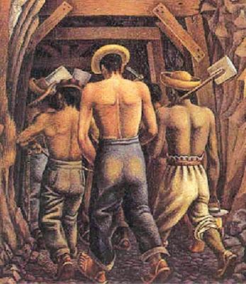 mineros de rio tinto