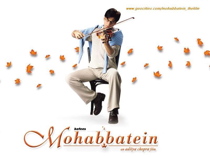 hindi movie song mohabbatein free