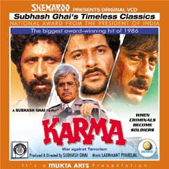 Karma  (1986) - Hindi Movie