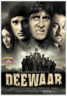 Deewaar: Lets Bring Our Heroes Home (2004 - movie_langauge) - Amitabh Bachchan, Sanjay Dutt, Akshay Khanna, Amrita Rao, Raghuveer Yadav, Akhilendra Mishra, Tanuja, Piyush Mishra